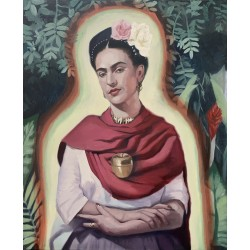 """Frida and the apple"""